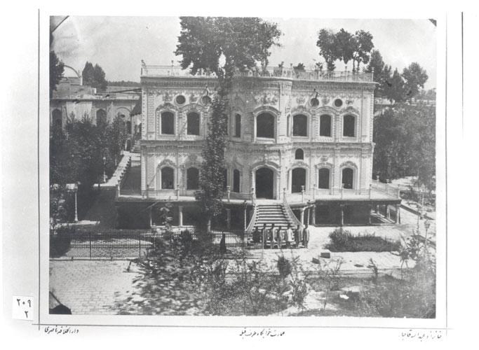 Fig. 16. The khāb gāh. Gulistan Palace Visual Document Center, Tehran, Iran (209-2).