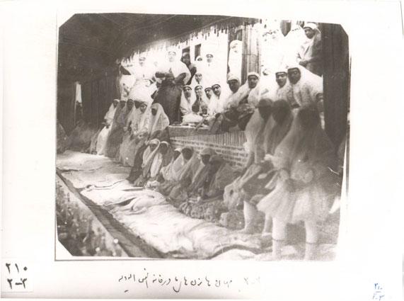 Fig. 17. Social gathering at Anis al-Dowleh's home. Gulistan Palace Visual Document Center, Tehran, Iran (2010-2-3).