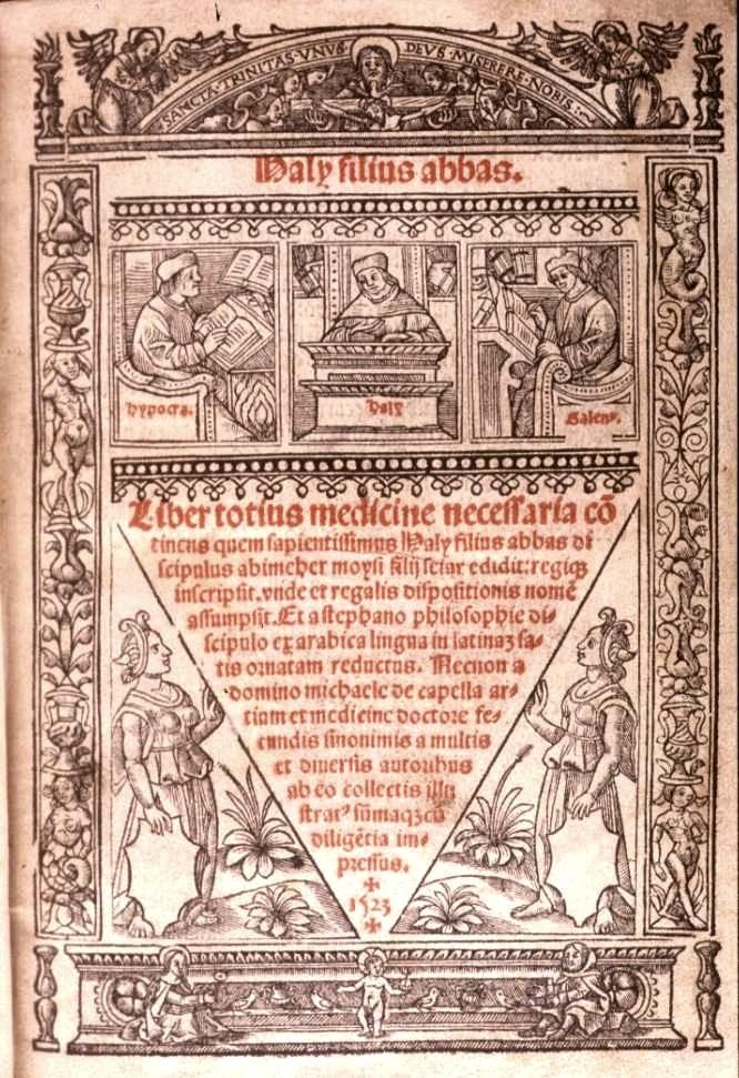 Haly Filius Abbas (930-944).