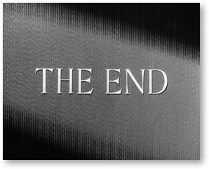"""(Image 7: """"The End"""" frame from William Wyler's The Best Years of Our Lives [1946])"""