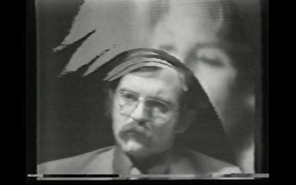Fig.1. Video feedback effect in Urbanity Hurrah, 1970.