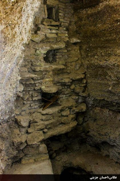 تصویر 4. سد زیرزمینی قنات وزوان. عکس از احسان جزینی.