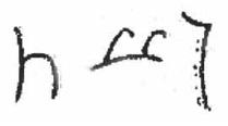 عکس 7. برگرفته از  Konstantin Tsereteli, Semitological and Kartvelological Studies, ed. Grigol Giorgadze (Tbilisi: Ivane Javakhishvili Tbilisi State University, Program Logos, 2001), 381.