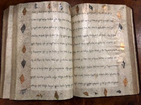 Figure 8. S-16, seventeenth or eighteenth century, 216v-217r. Reprinted by permission of the Korneli Kekelidze National Centre of Manuscripts.